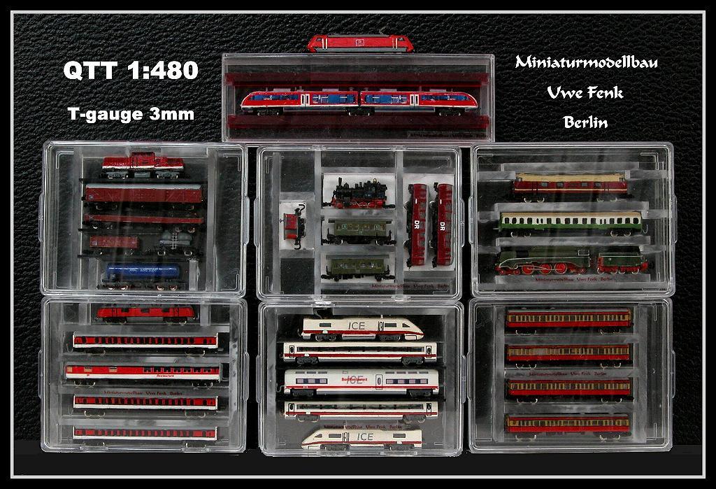 Najmanji vlakovi na svijetu: mjerilo T AllTrainsInTGauge