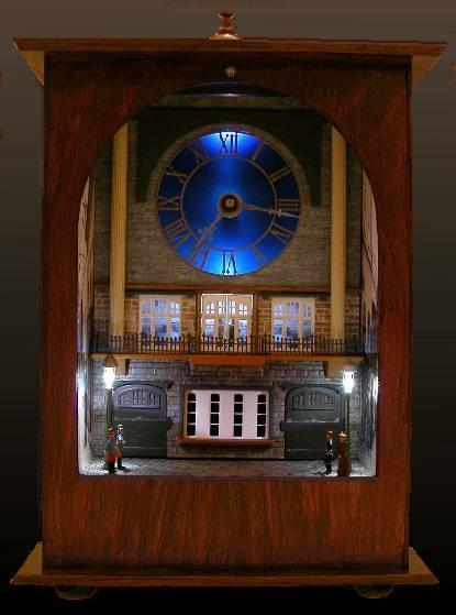 Najmanji vlakovi na svijetu: mjerilo T Kaiser-Uhr-abends