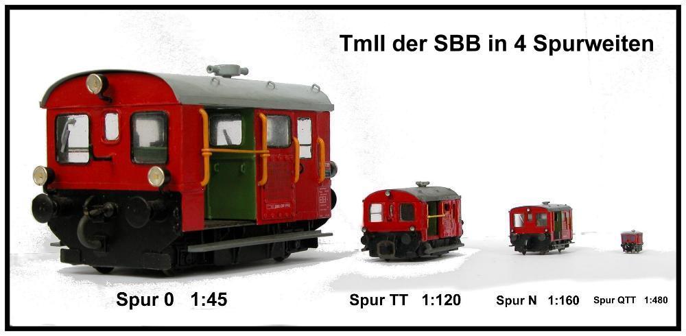 Najmanji vlakovi na svijetu: mjerilo T TmIIin0-TT-N-T-Gauge