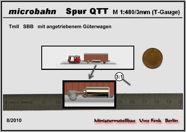 Najmanji vlakovi na svijetu: mjerilo T TmIIinT-Gauge