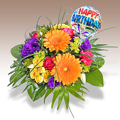 இன்று பிறந்த நாளை கொண்டாடும் நண்பர்களை வாழ்த்துவோம்  5851_blumen_citylights_und_miniballon_happy_birthday