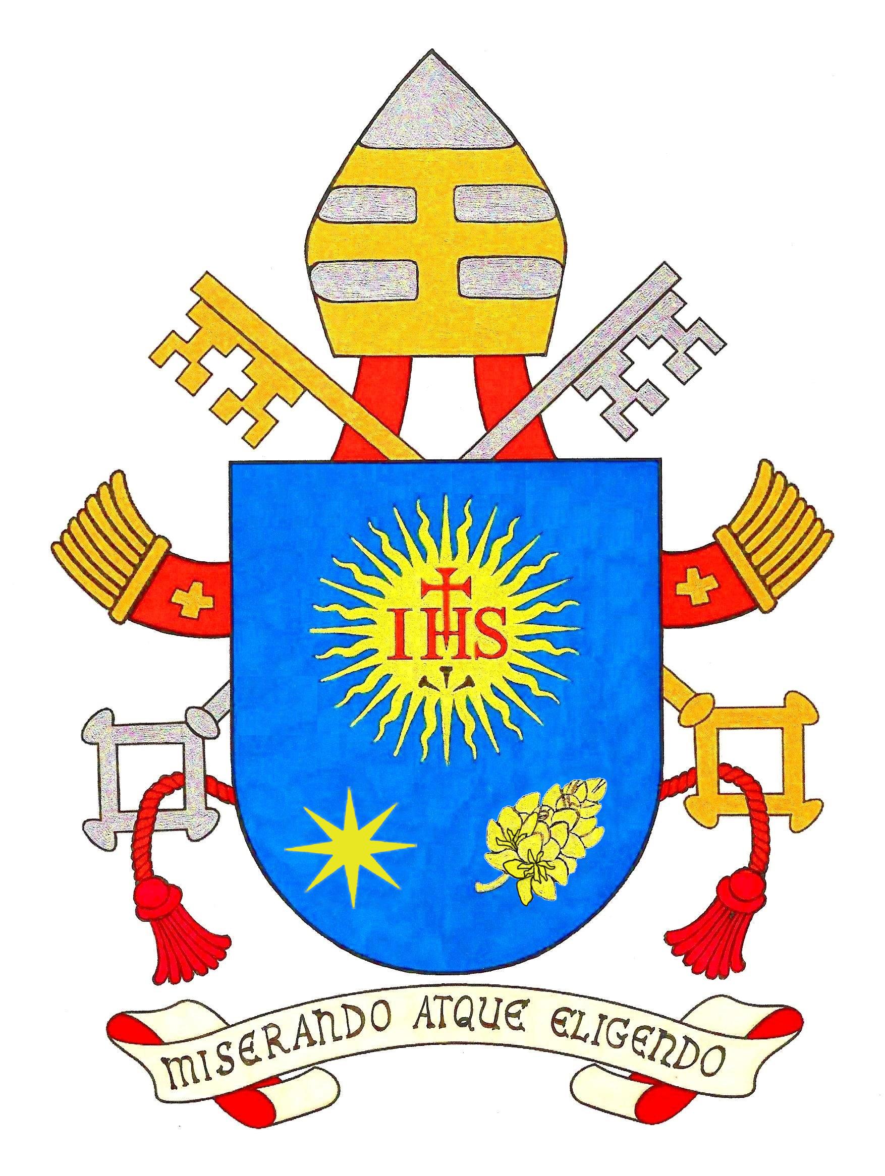 """Cattedra di San Pietro"" StemmaPapaFrancesco_18-03-2013"