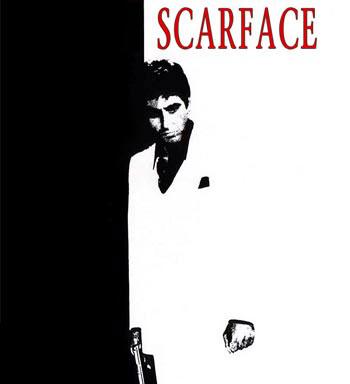 CINE DE MAFIA. Scarface