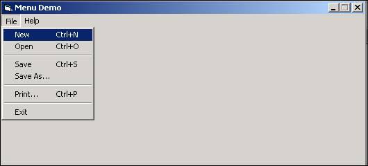 الدرس السادس عشر ...أنشاء القوائم menu, و أشرطة الادوات Toolbar !!! Image001