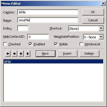 الدرس السادس عشر ...أنشاء القوائم menu, و أشرطة الادوات Toolbar !!! Image006