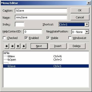 الدرس السادس عشر ...أنشاء القوائم menu, و أشرطة الادوات Toolbar !!! Image011