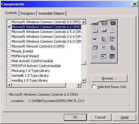 الدرس السادس عشر ...أنشاء القوائم menu, و أشرطة الادوات Toolbar !!! Image004