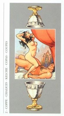 DECAMERON TAROT галерея таро и значения  - Страница 2 Cups02