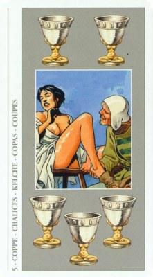 DECAMERON TAROT галерея таро и значения  - Страница 2 Cups05