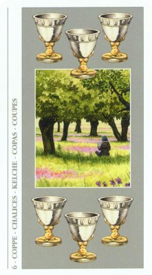 DECAMERON TAROT галерея таро и значения  - Страница 2 Cups06