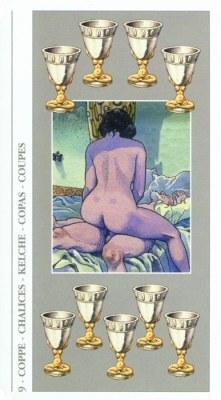 DECAMERON TAROT галерея таро и значения  - Страница 2 Cups09