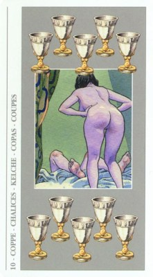 DECAMERON TAROT галерея таро и значения  - Страница 2 Cups10