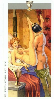 DECAMERON TAROT галерея таро и значения  - Страница 2 Cups14