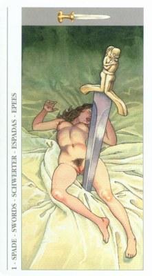 DECAMERON TAROT галерея таро и значения  - Страница 3 Swords01