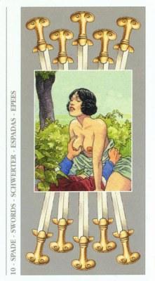 DECAMERON TAROT галерея таро и значения  - Страница 3 Swords10
