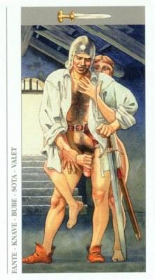 DECAMERON TAROT галерея таро и значения  - Страница 3 Swords11