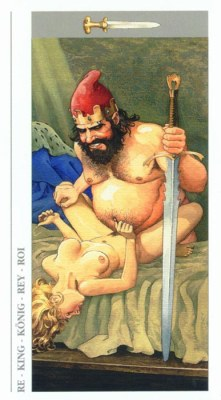 DECAMERON TAROT галерея таро и значения  - Страница 3 Swords14