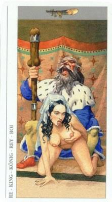 DECAMERON TAROT галерея таро и значения  - Страница 2 Wands14
