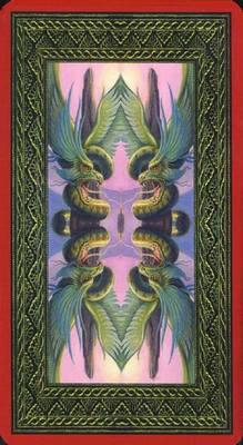 Dragons Tarot , галерея таро и значения - Страница 4 BackL