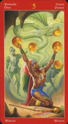 Dragons Tarot , галерея таро и значения - Страница 3 Coins05