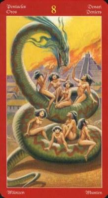 Dragons Tarot , галерея таро и значения - Страница 3 Coins08