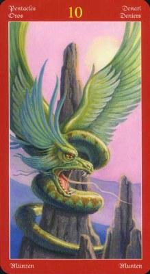 Dragons Tarot , галерея таро и значения - Страница 3 Coins10
