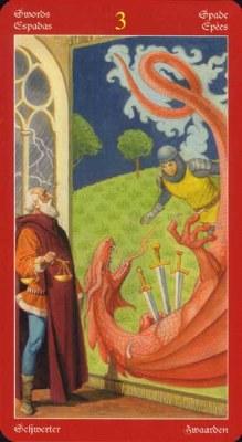 Dragons Tarot , галерея таро и значения - Страница 3 Swords03