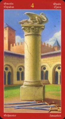 Dragons Tarot , галерея таро и значения - Страница 3 Swords04