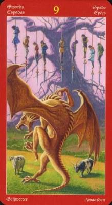 Dragons Tarot , галерея таро и значения - Страница 3 Swords09