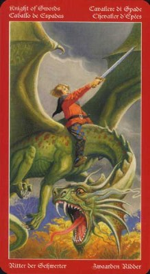 Dragons Tarot , галерея таро и значения - Страница 3 Swords12