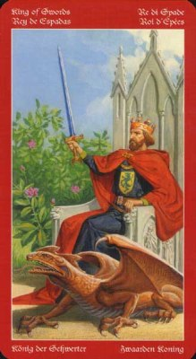 Dragons Tarot , галерея таро и значения - Страница 3 Swords14