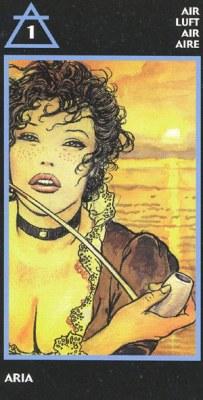 MANARA Эротическое Таро.  - Страница 3 Swords01