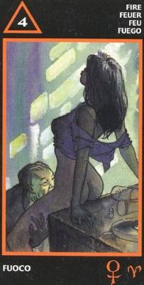 MANARA Эротическое Таро.  - Страница 2 Wands04