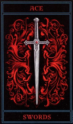 THE GOTHIC TAROT - Страница 3 Swords01