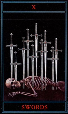 THE GOTHIC TAROT - Страница 3 Swords10