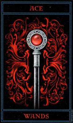 THE GOTHIC TAROT Wands01