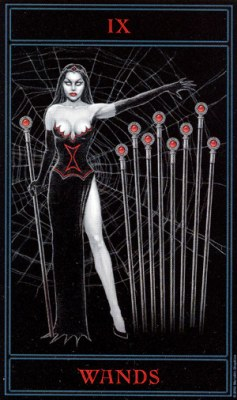 THE GOTHIC TAROT - Страница 2 Wands09