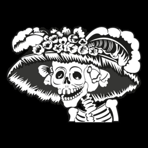 B'Day » SkeletonGuns L14937-la-catrina-logo-12181
