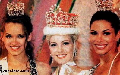 Miss International 1995: Anne Lena Hansen of Norway 1995-01mi