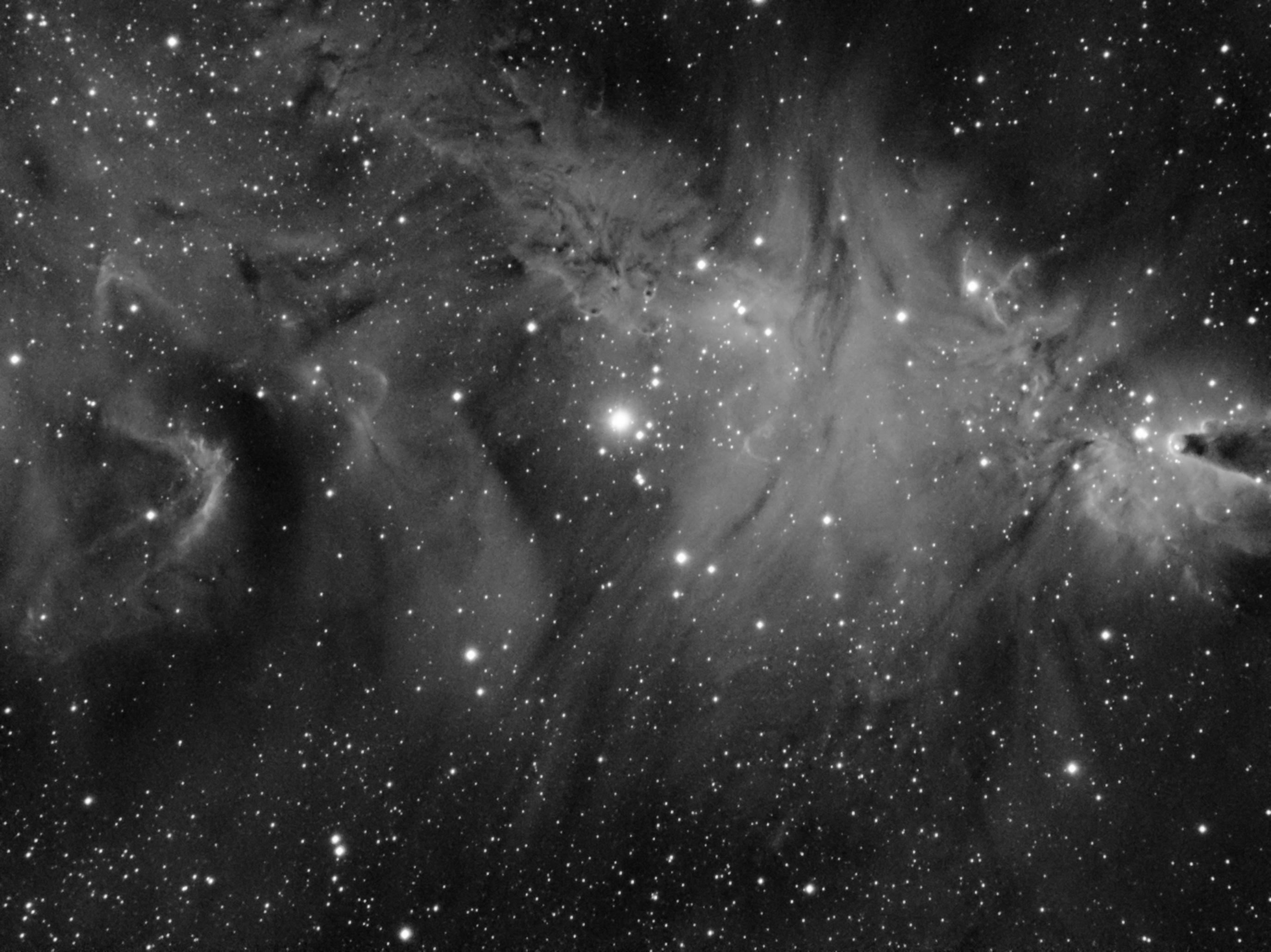 Nébuleuse du cône 2019-02-25-NGC2264