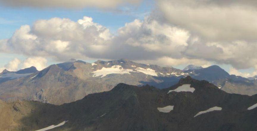 Glacier du Grand Pissaillas ou deux petits glaciers? Pissaillas