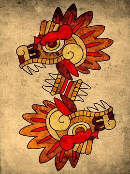 Deidades aztecas Quetzalcoatl-02