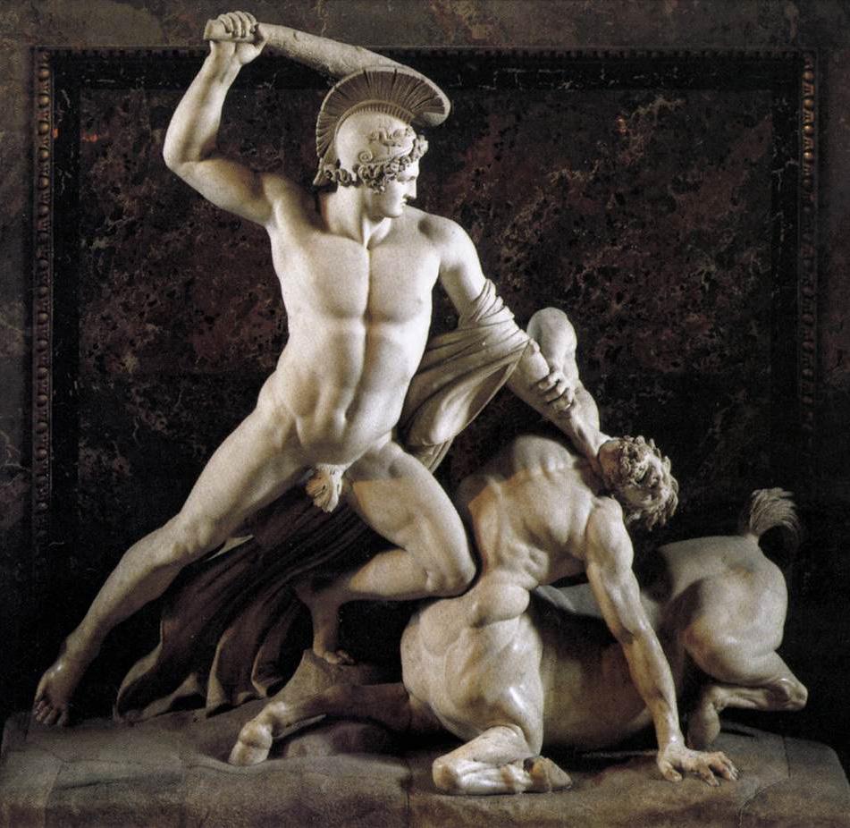 Antonio Canova   1757 - 1822  CANOVA_Antonio_Theseus