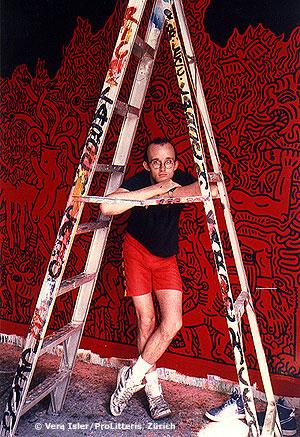 Keith Haring Ladder