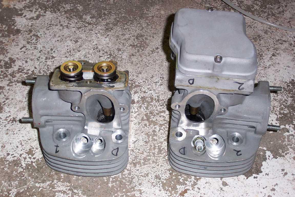 Motores 1/2 VW (Escarabajo/Combi) de 35~40 HP de potencia. CylinderHeads