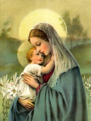 [Jeu] Association d'images - Page 4 Vierge-enfant