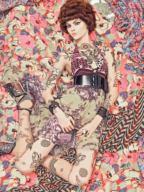 Cogli l'attimo Voguepatterns-steven-meisel-5