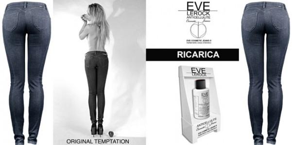 Eve Cosmetic Jeans ® DI LEROCK - Jeans anticellulite Eve-Lerock-jeans-anticellulite-601x300