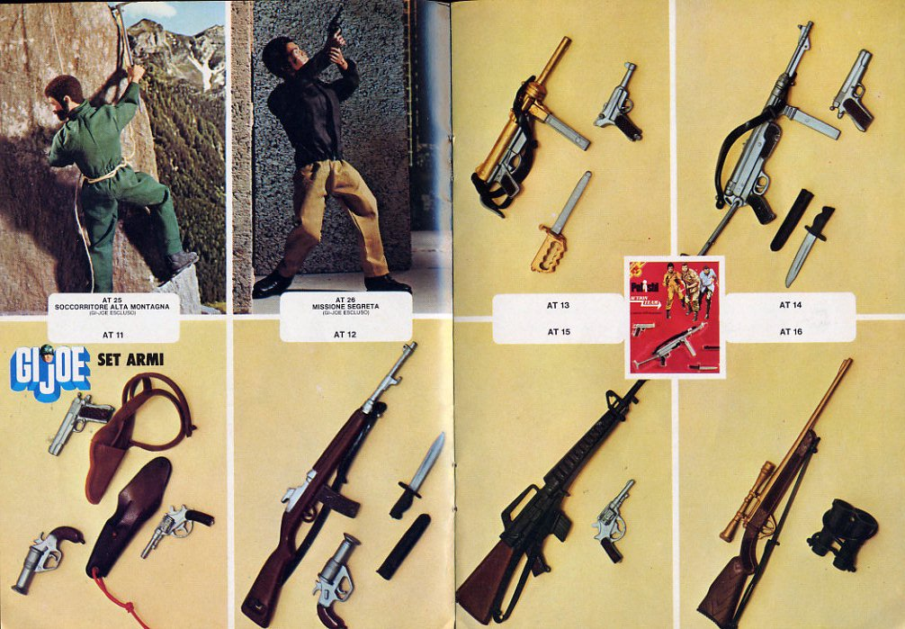 GI Joe Action Team - catalogo Polistil 1977 File0005