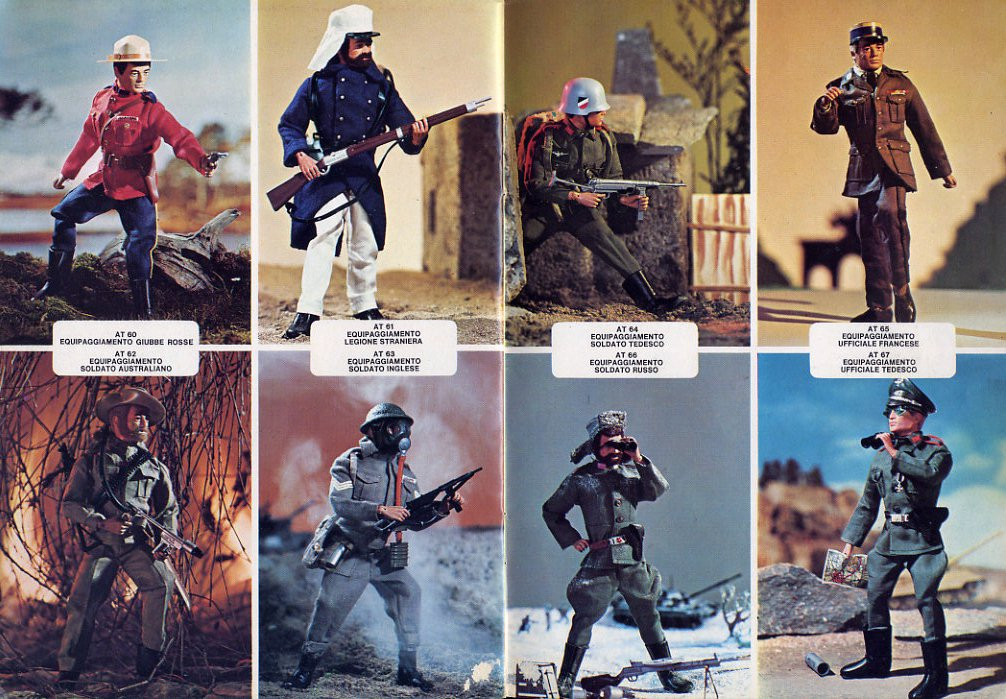 GI Joe Action Team - catalogo Polistil 1977 File0009